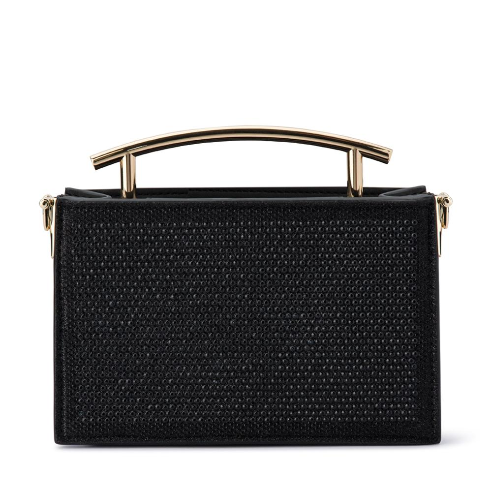 SOFIA Horfix Evening Bag-Black